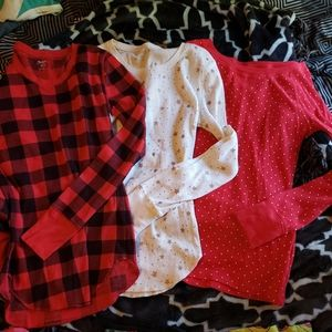 3 Old Navy Flannels, Small Petite